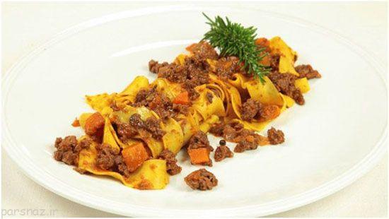 با انواع غذاهای خوشمزه ایتالیایی آشنا شوید