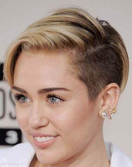 مدل های مو کوتاه دخترانه و زنانه جدید