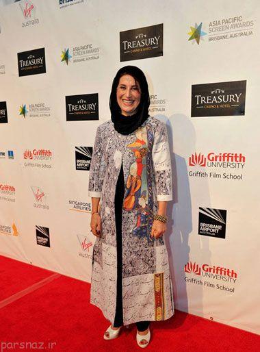 بازیگران زن ایرانی در عرصه های جهانی