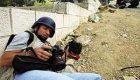 عکاسان و خبرنگاران در نزدیکترین نقطه خطر