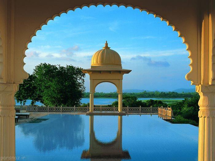 عکس های دیدنی از هتل هندی لوکس و زیبا