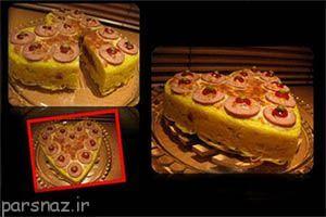طرز تهیه کیک ماکارونی با دستور پخت آسان