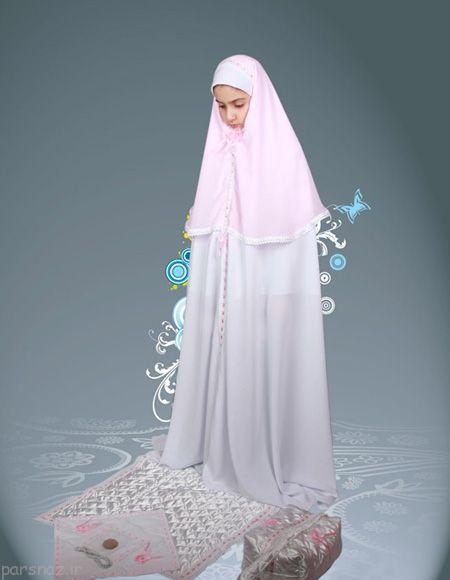 انواع طرح های چادر جشن تکلیف دختران