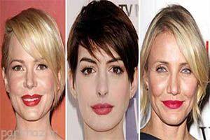یافتن مدل مو متناسب با نوع صورت شما
