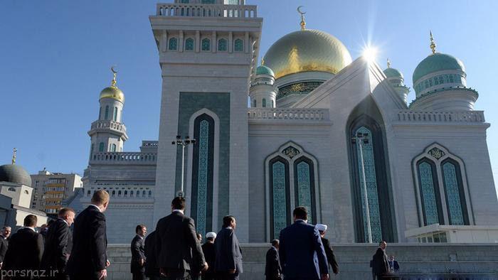 مساجد معروف و باشکوه دنیا در قالب تصویر