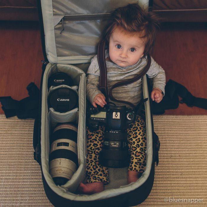 تصاویر سوژه شدن نوزادان عکاسان حرفه ای