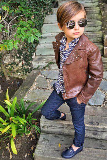 تصاویری از شیک پوش ترین کودکان مدل در جهان