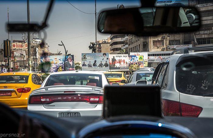 تصاویری جالب از زندگی در کشور جنگ خیز عراق
