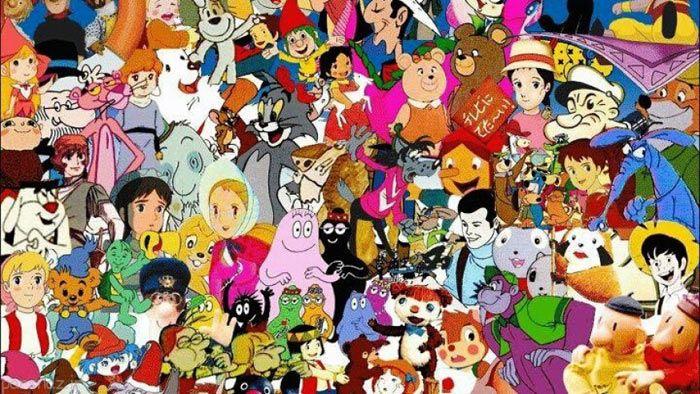 شخصیت های کارتونی وقتی پیر می شوند