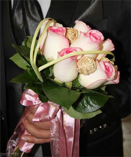 عکس های شیک و جذاب از دسته های گل عروس