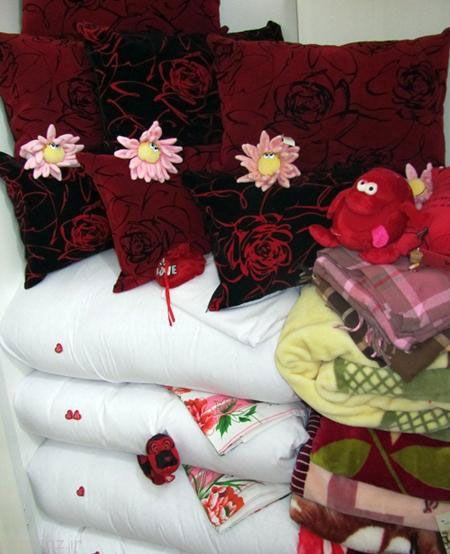 دکوراسیون زیبا از جهیزیه عروس ایرانی
