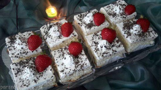 شیرینی تر برشی را براحتی یاد بگیرید