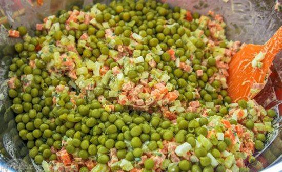 سالاد اکراینی خوشمزه را برای تناسب اندام بخورید