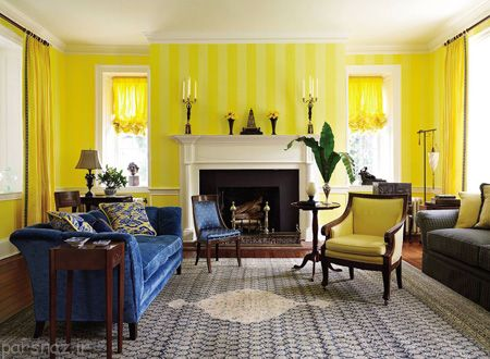 رنگ آمیزی خانه و ایده های زیبای دکوراسیون منزل
