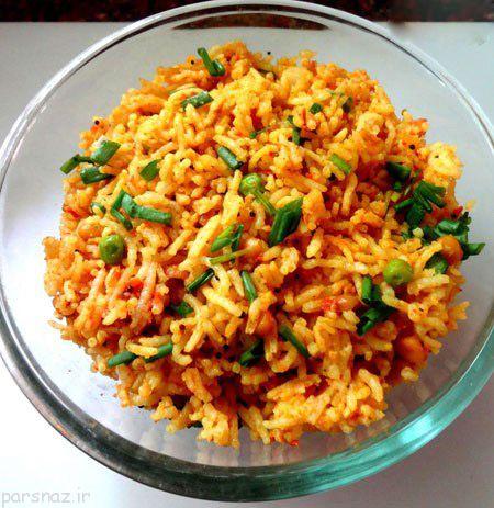 طرز پخت غذاهای خوش طعم با نخود سبز