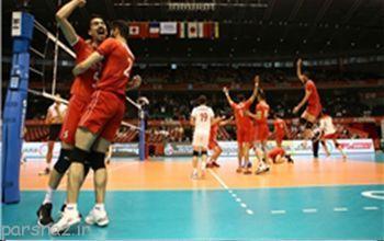 نتیجه دومین بازی ایران در والیبال انتخابی المپیک 2016 ژاپن