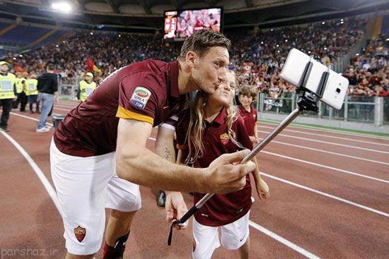علاقه فوتبال رم به فرانچسکو توتی محبوب