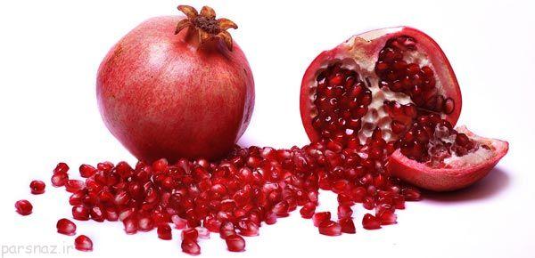 خواص اعجاب انگیز میوه ی بهشتی انار