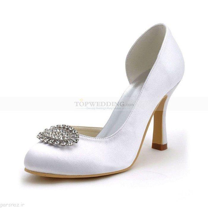 مدل های جدید کفش عروس در سال 1398