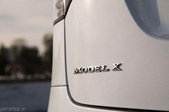 با خودروی مدرن تسلا ایکس آشنا شوید