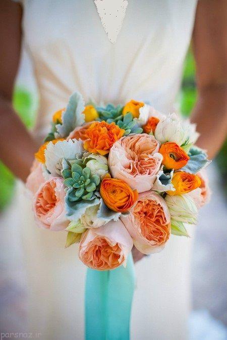 عکس های زیبا از دسته گل های عروس 1395