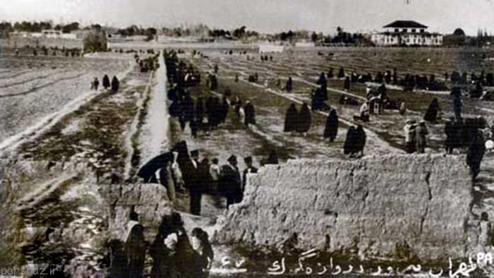 عکس های دیدنی از دروازه های قدیمی تهران
