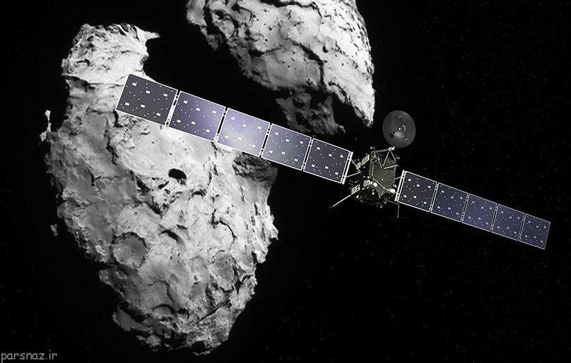 آجرهای سازنده حیاط روی یک دنباله دار کشف شد