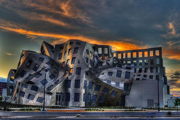 عکس های دیدنی از معماری مرکز مغز و اعصاب لاس وگاس