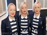 رقابت جذاب خواهران سه قلو در المپیک