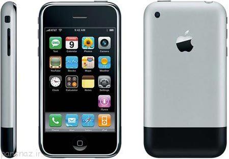 گوشی های آیفون اپل از اولین تا آخرین نسخه