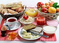 یک صبحانه فوق العاده با مواد غذایی سالم