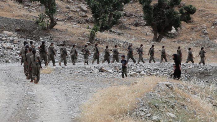 تصاویری از کمپ نظامی زنان پ.ک.ک ترکیه