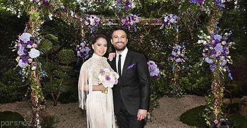 ازدواج تارکان ، خواننده مشهور ترکیه ای با هوادارش