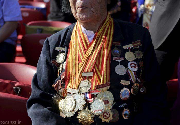 رژه بزرگ کشور چین در سالگرد پایان جنگ جهانی دوم