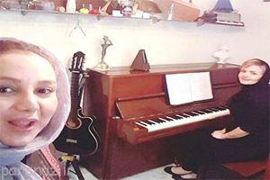 جنجال خوانندگی بهنوش بختیاری در کنسرت