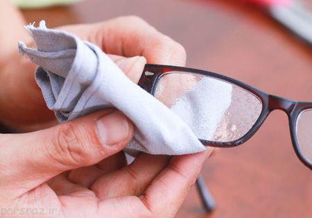 استفاده از عینک آنتی رفلکس برای محافظت چشم