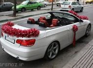 تصاویر مدل های زیبا ماشین عروس جدید