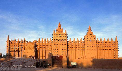با بناهای زیبای خشتی در جهان آشنا شوید