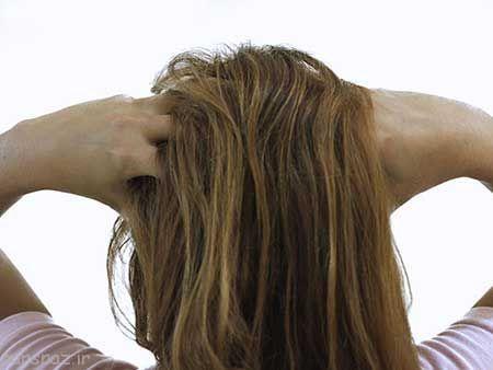 شستشوی زیاد موهای چرب
