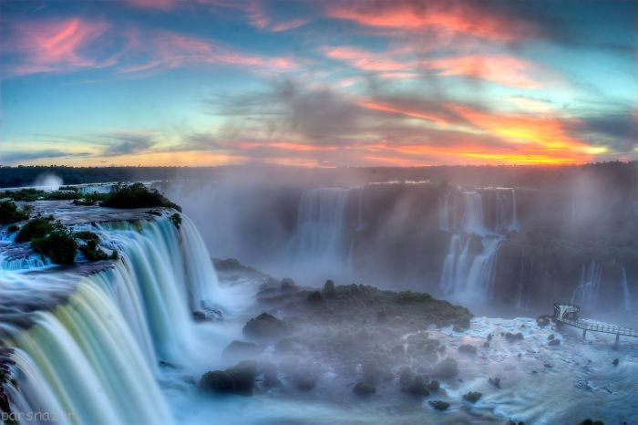 عکس های جالب مرزهای بین کشورها در جهان