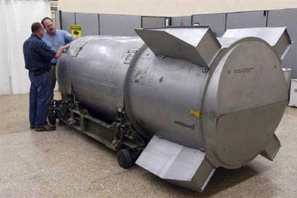 کشورهایی که به طور رسمی بمب اتمی دارند