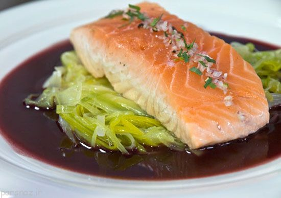 ماهی سالمون را به سبک شرقی طبخ کنید