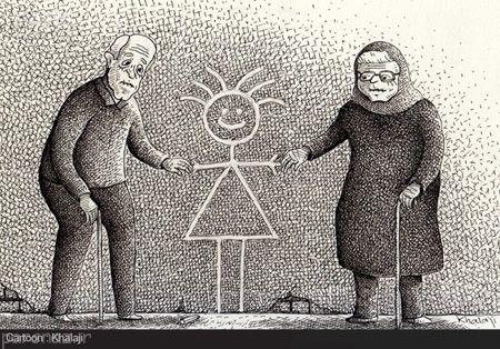 عکس های جالب از کاریکاتورهای مفهومی