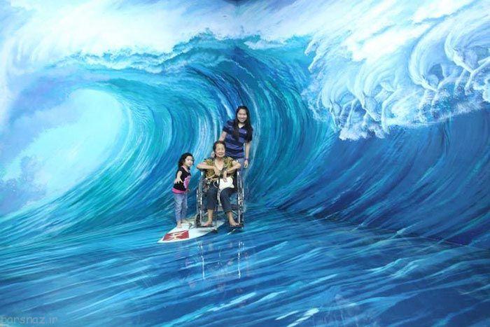 عکس های جذاب از موزه سه بعدی در فیلیپین