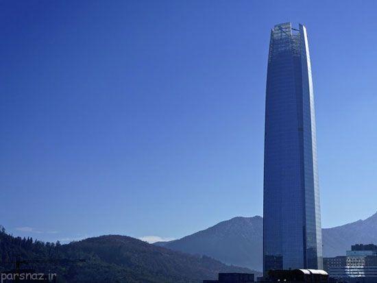 تصاویری زیبا از بلندترین برج های دنیا