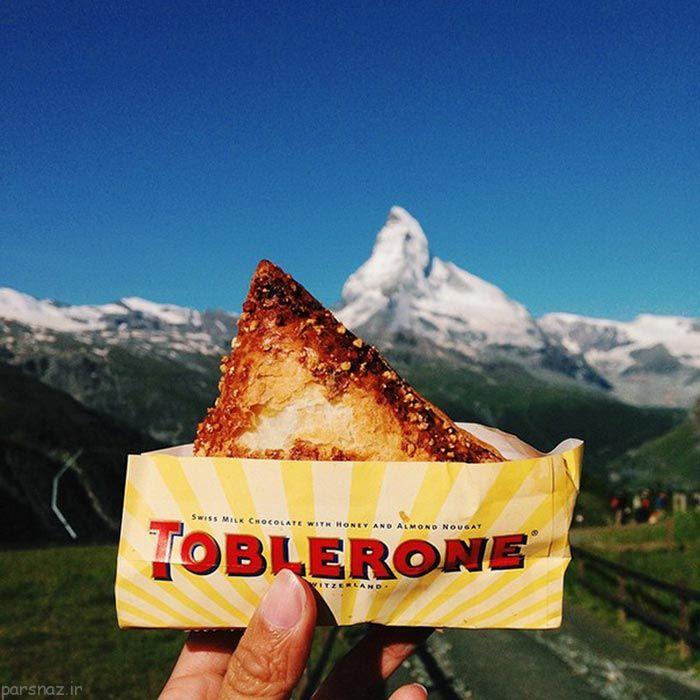 تصاویری خوشمزه از خوراکی های سراسر جهان