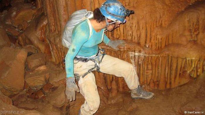 عکس های دیدنی از غارهای زیبای ایرانی