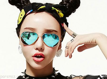 طرح های عینک آفتابی و خلبانی زنانه برند INMIX