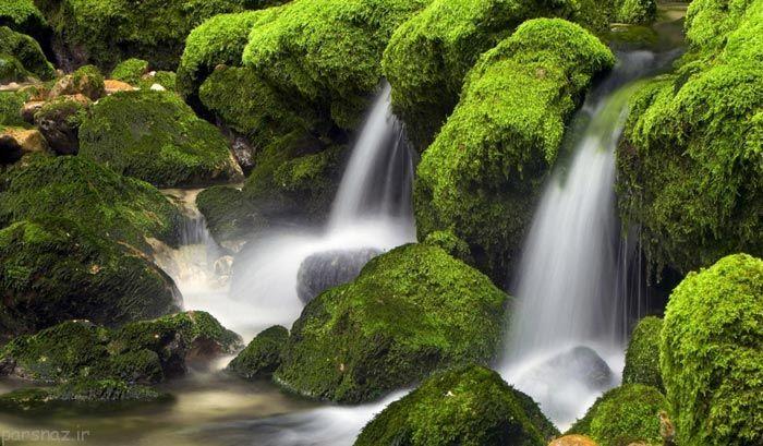 هنرنمایی طبیعت به دست خداوند قادر و متعال