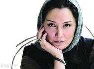 گریه های هدیه تهرانی در مراسم عزاداری!! + عکس